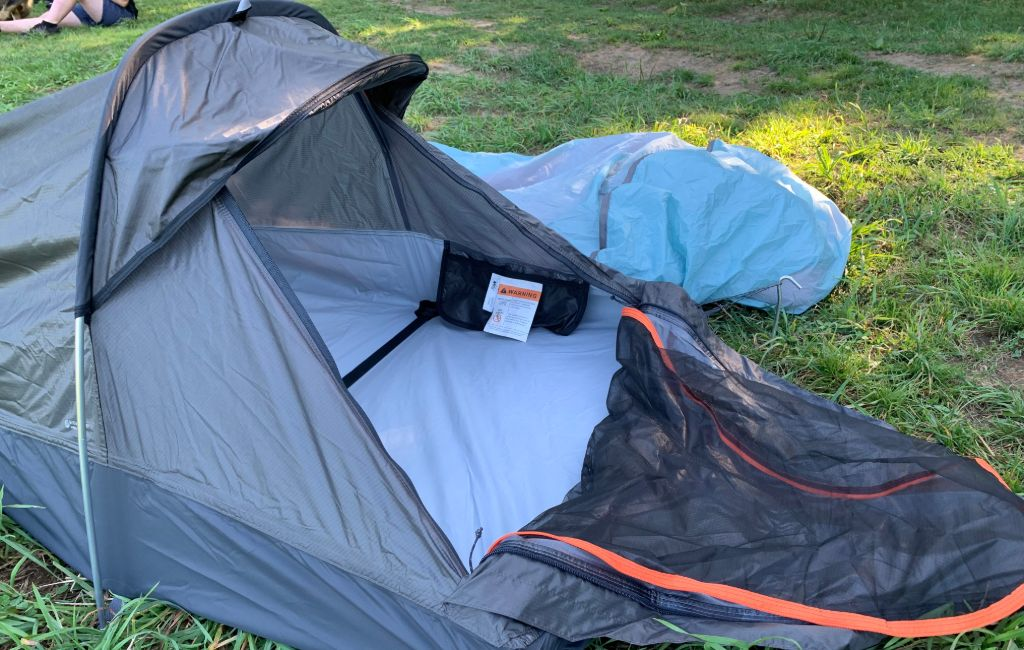 two types of best ultralight bivy sacks next to each other