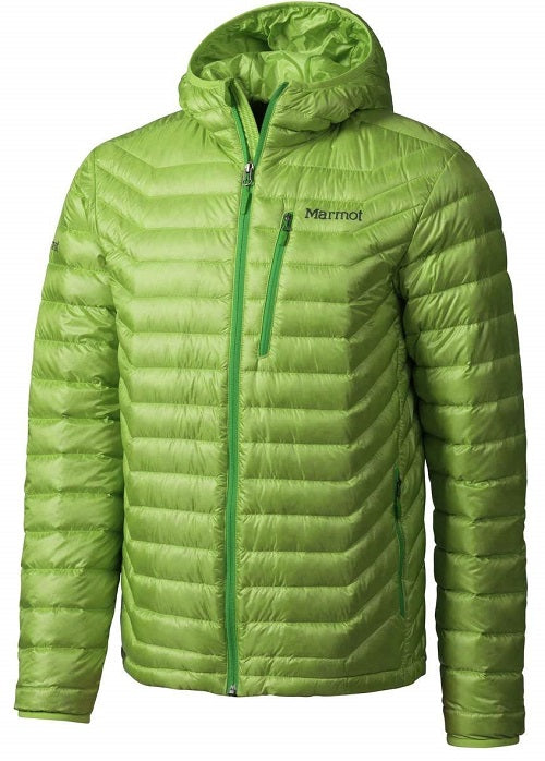 ultralight down jackets - marmot quasar