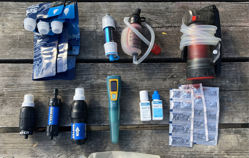 best water filters for backpacking compared