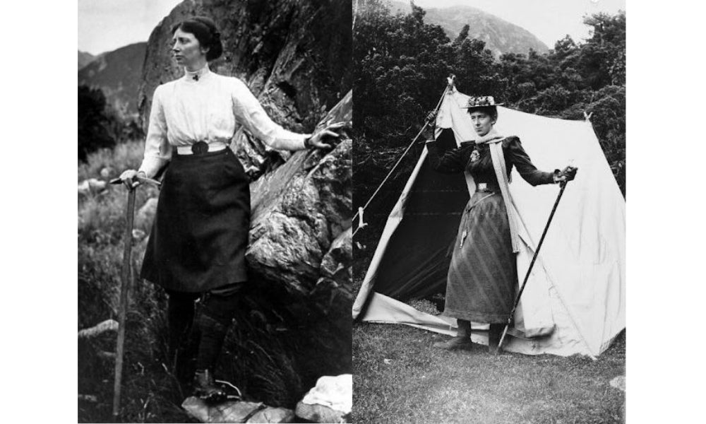 retro hiking skirts