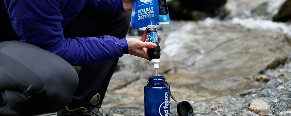 how much water should I carry backpacking?