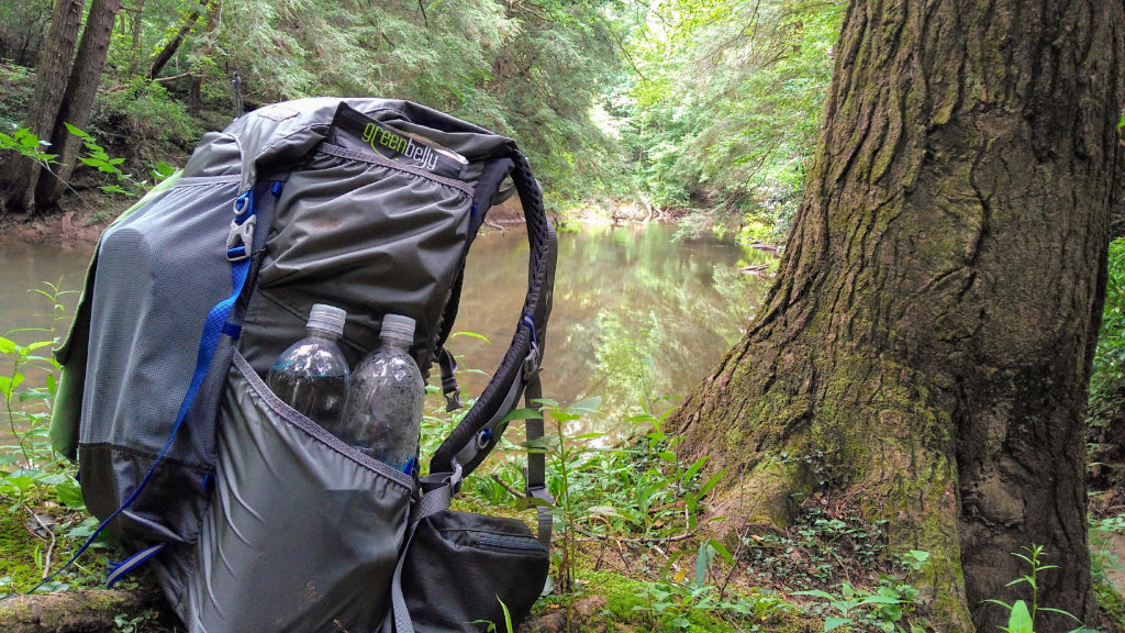 how to pack a backpack with food and ultralight gear