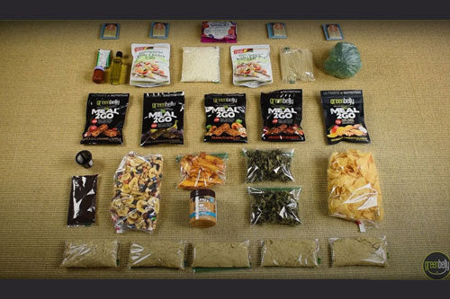 backpacking food ideas and meal plan