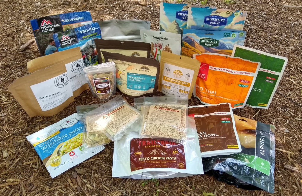 freeze-dried backpacking food brands