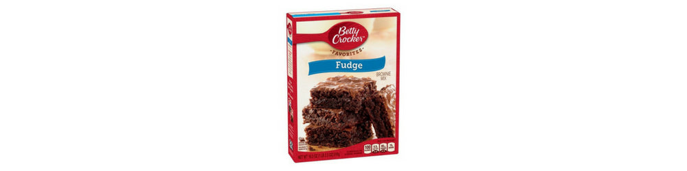 backpacking food brownie cookie mix