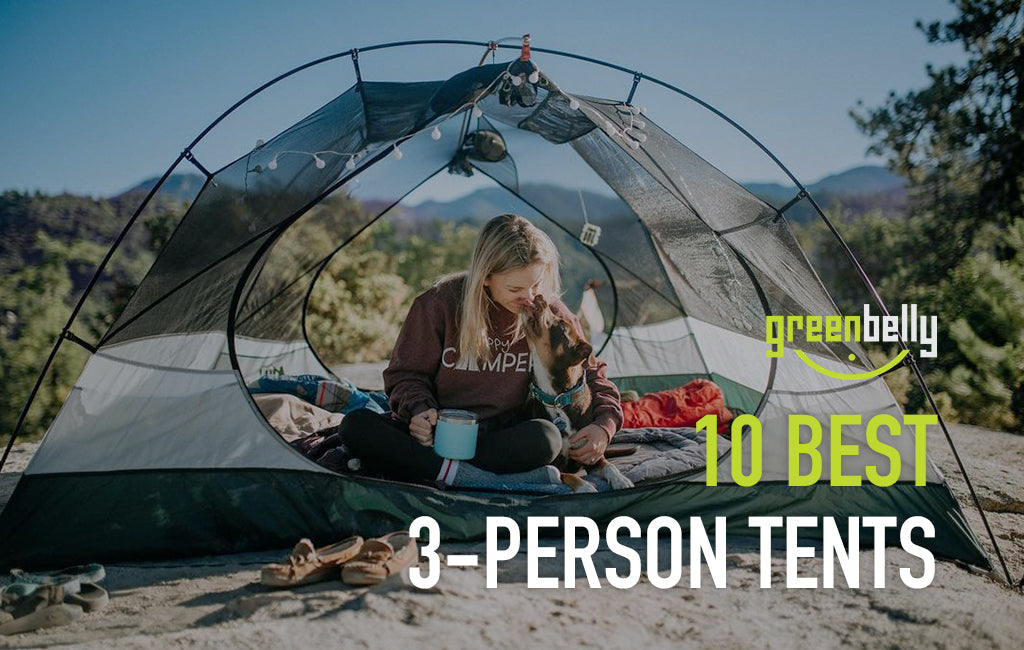 best 3-person tents