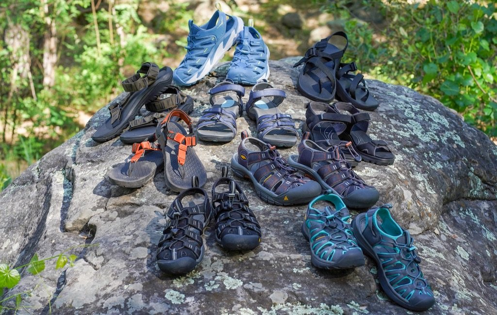 all best hiking sandals on rock