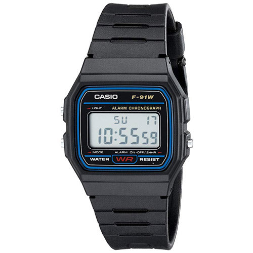 Casio F91W-1 hiking watch