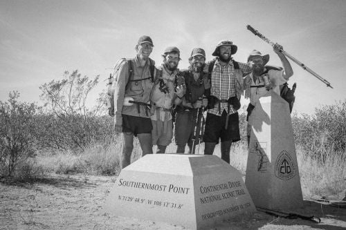 continental divide trail map and guide