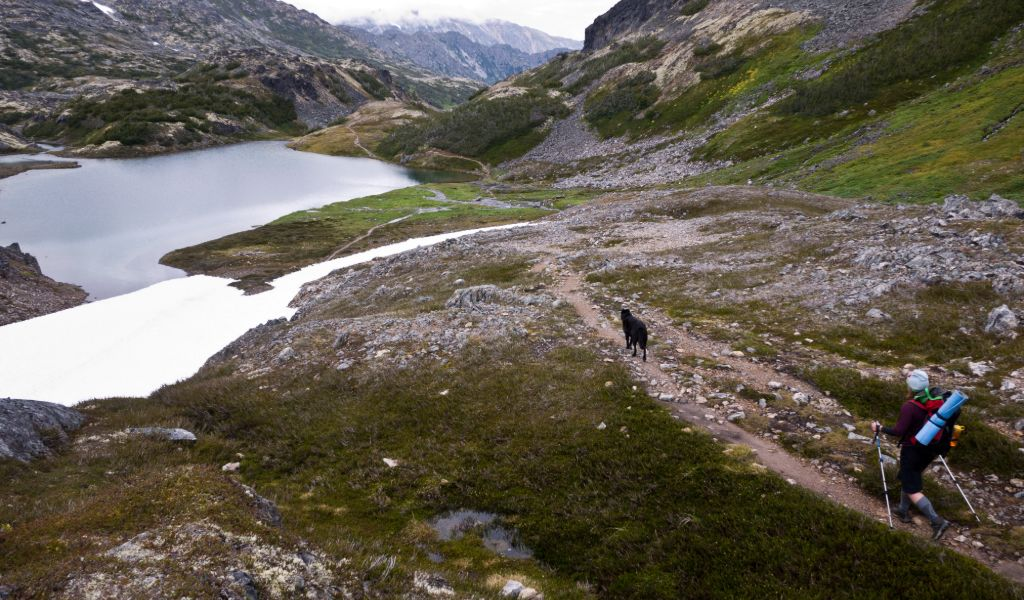 calories burned backpacking chilkoot trail