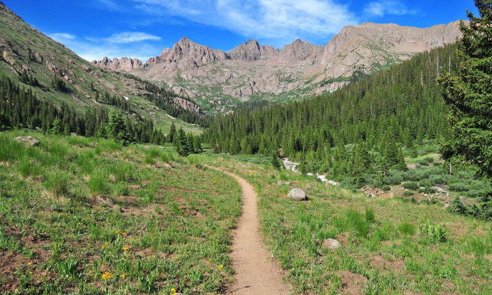 colorado trail hike