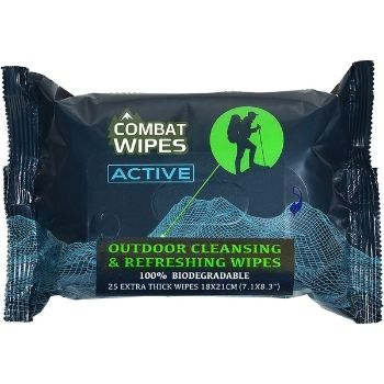 combat biodegradable wipes