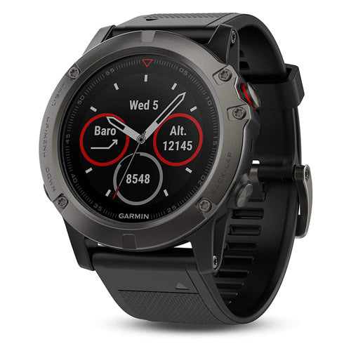 Garmin Fenix 5X plus hiking watch