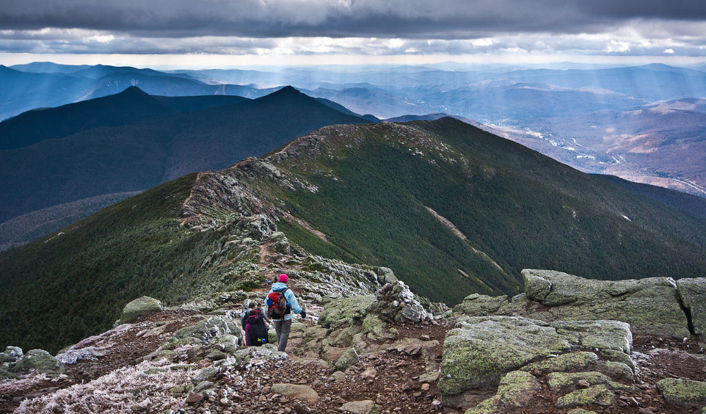 the presidential range new hampshire best appalachian trail section hikes