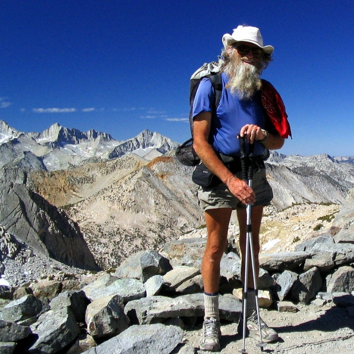 famous hiker george Woodard aka billy goat