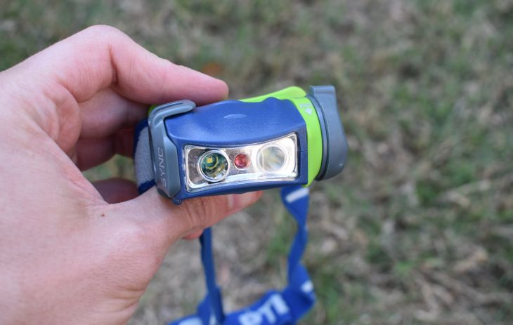 blue rechargeable headlamp