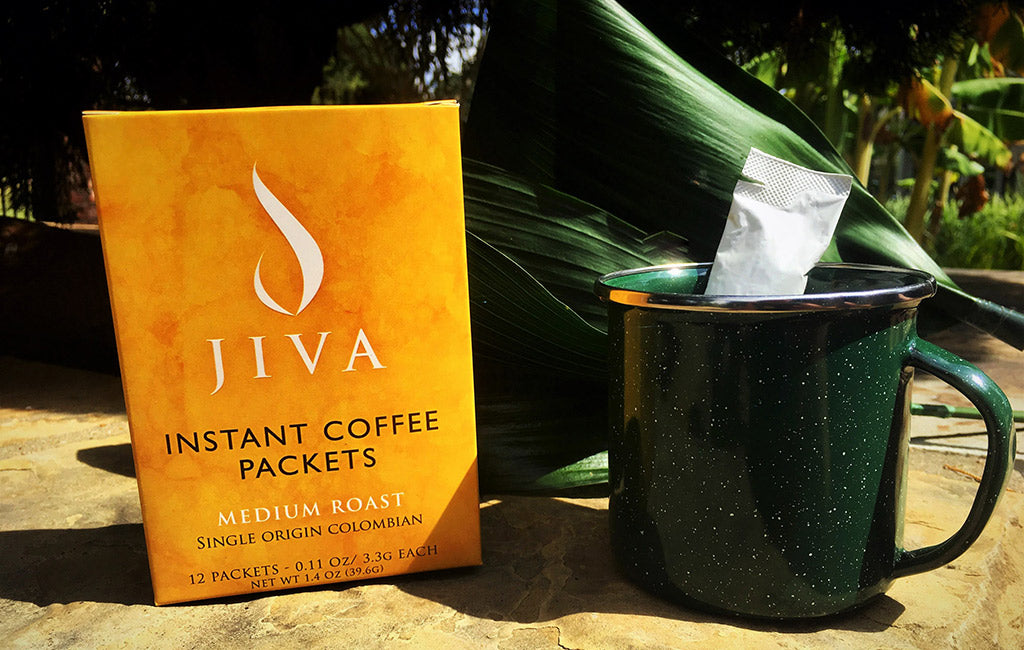 jiva best instant coffee packaging product description