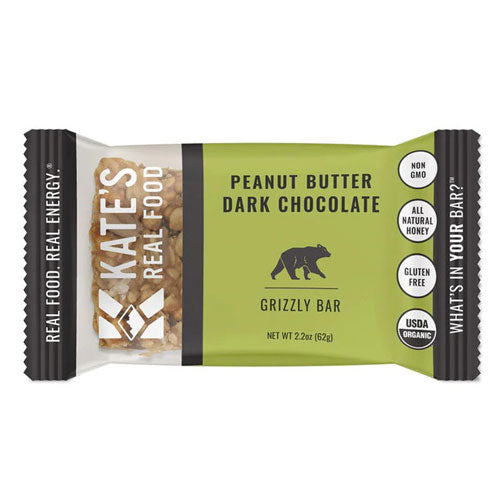 kate's real food grizzly meal replacement bars