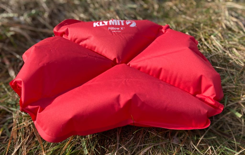 klymit x backpacking pillow