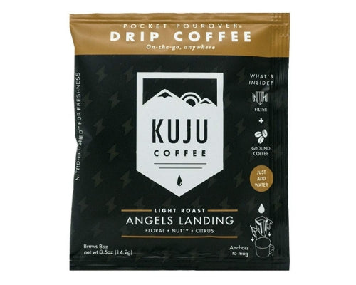 kuju pourovers instant coffee