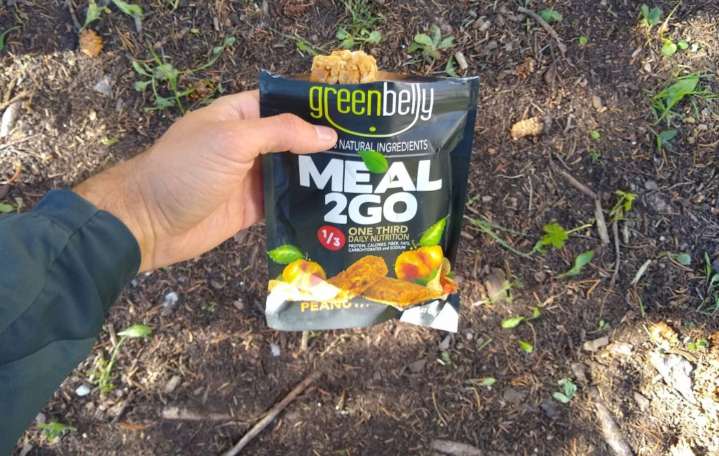 Greenbelly complete stoveless backpacking meals
