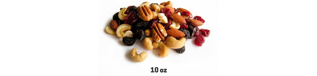 ultralight backpacking meal plan trail mix snack