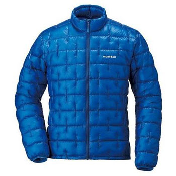 ultralight down jacket montbell plasma