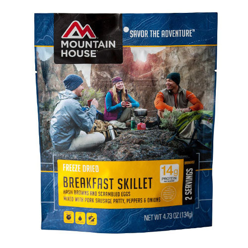 mountain house best freeze dried food brands for backpacking