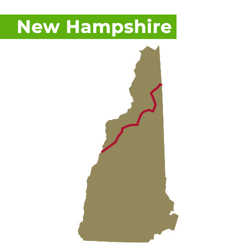 appalachian trail map new hampshire
