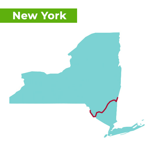 appalachian trail map new york