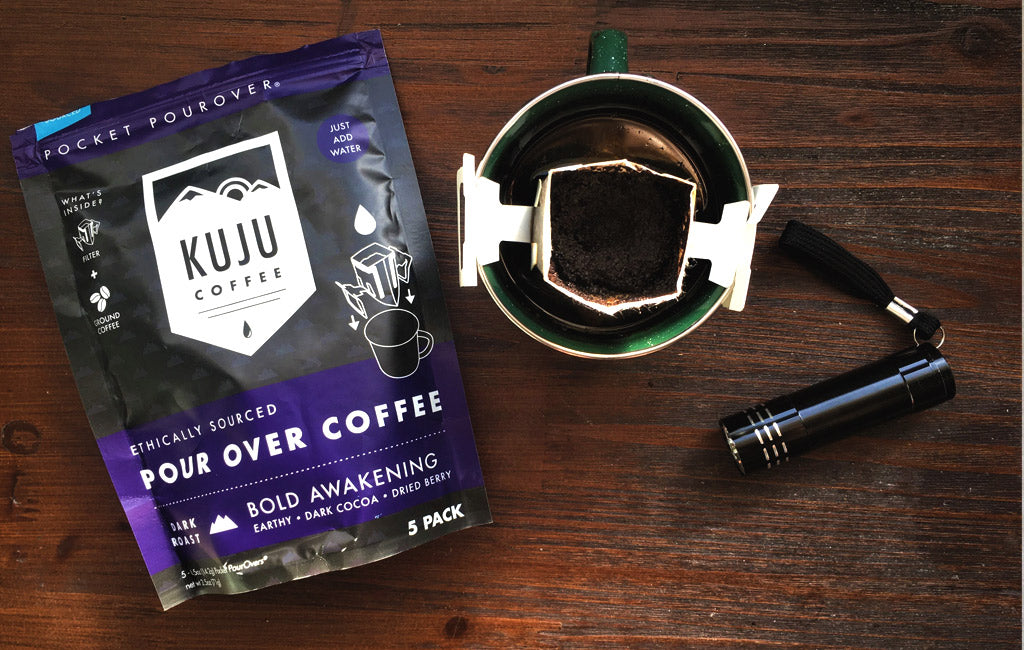 pour over instant coffee kuju