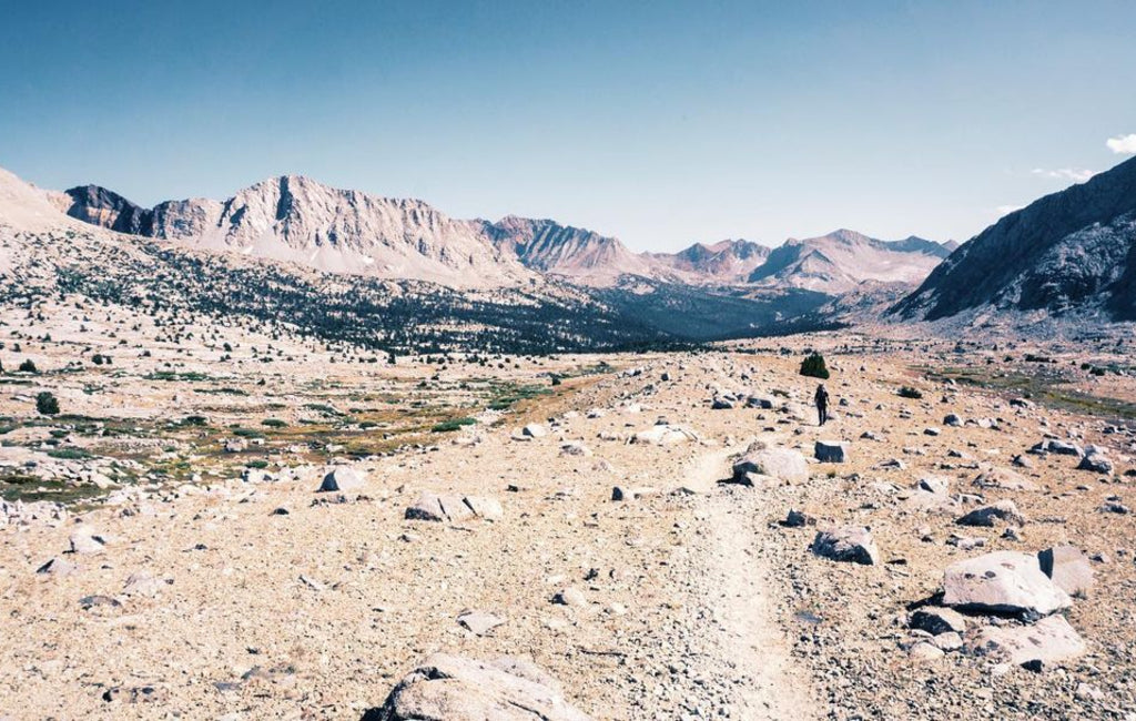 Photo of the Sierra High route