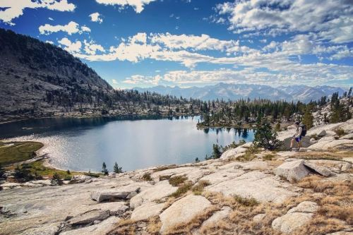 sierra high route map and hiking guide