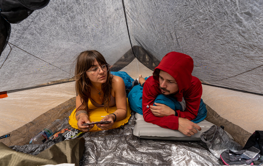 beginner backpacking tips for sleeping and camping