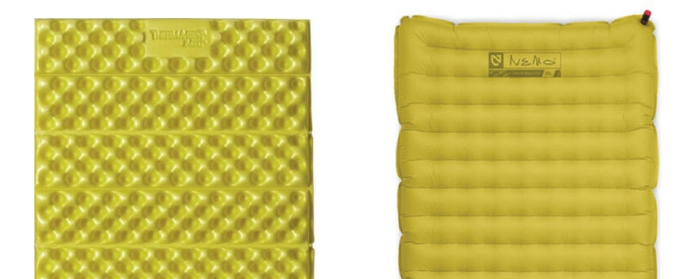sleeping pad foam vs inflatable ultralight backpacking