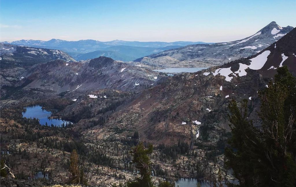 Tahoe Rim Trail overview and map