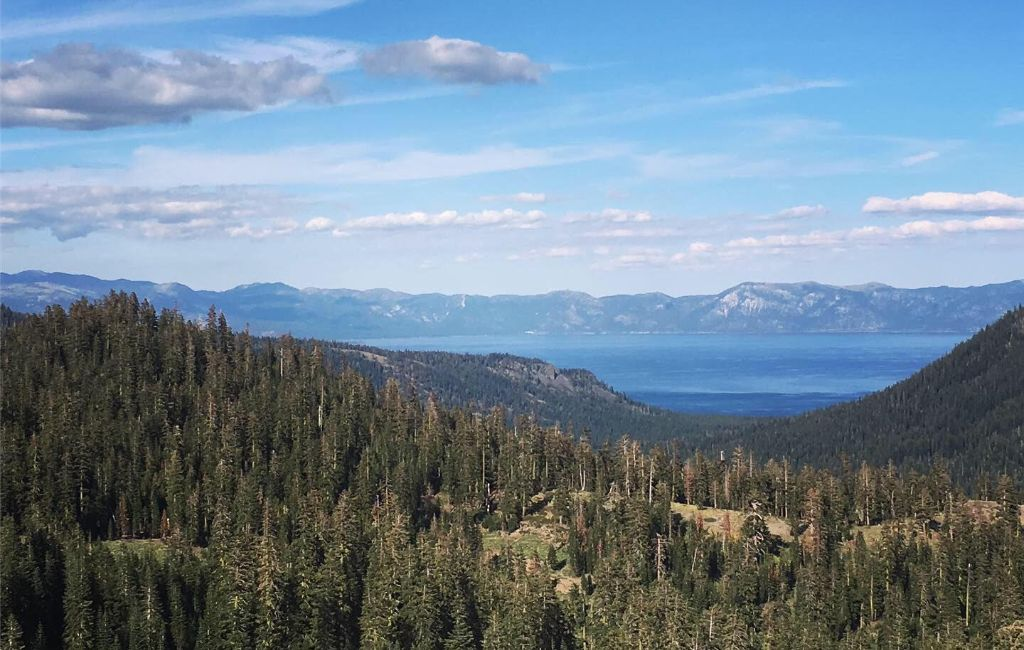 Tahoe Rim Trail sections