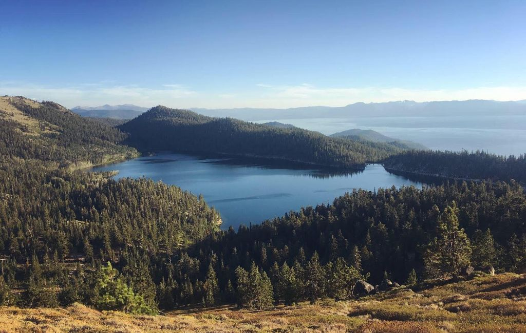 Tahoe Rim Trail distance and length