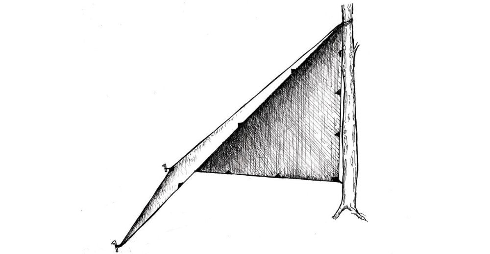 the headpsace or plough point ultralight tarp shelter configurations