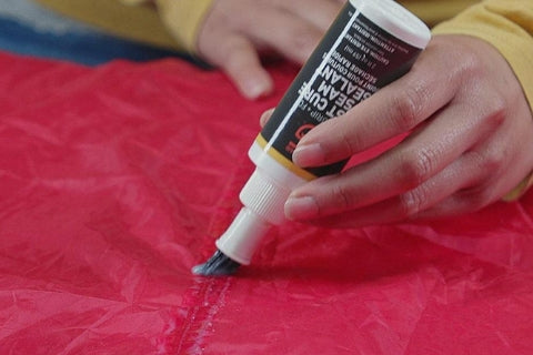how to apply tent seam sealers