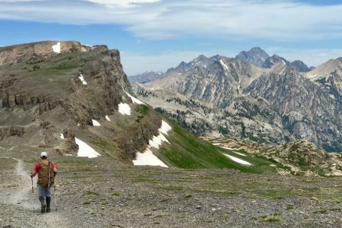 teton crest trail map and guide
