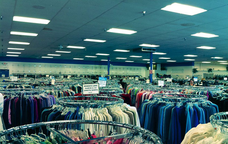 thrift stores