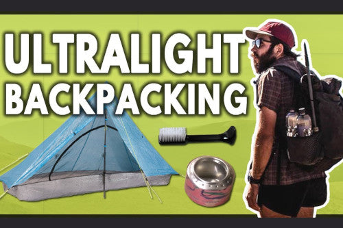history of ultralight backpacking