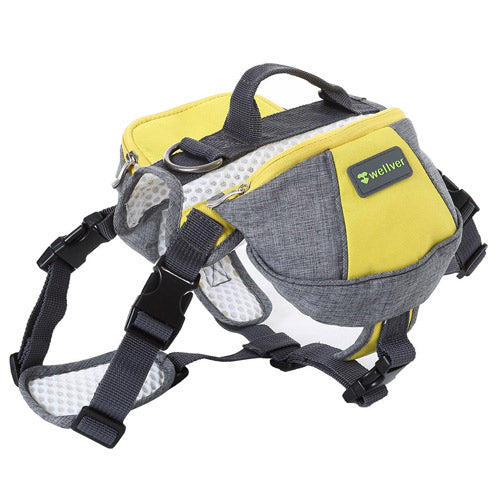 wellver saddle dog backpack