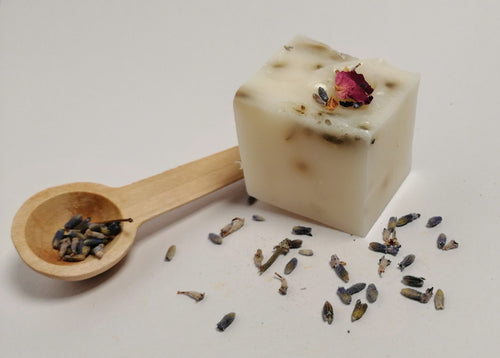 Shea Butter and Lavender Soap.
