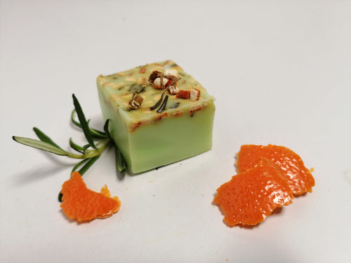 Rosemary and Citrus Soap.