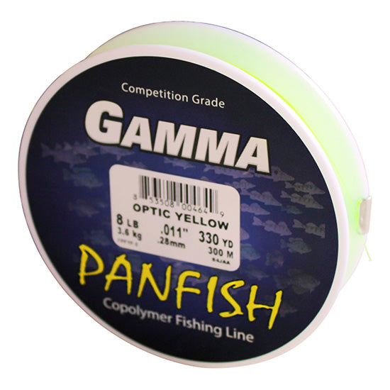 Polyflex Panfish - Optic Yellow Filler Spool