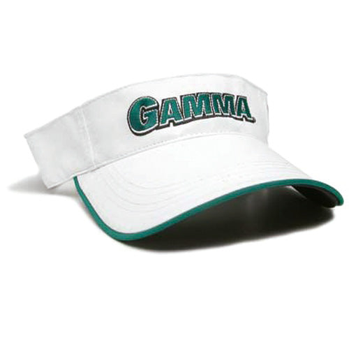 Gamma Edge Visor - White/Green