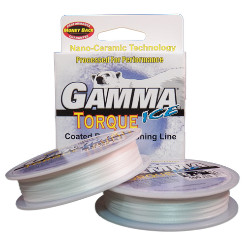 Gamma Torque Ice Braid - Arctic White 92M Spool