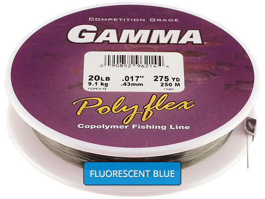 Copolymer - Fluorescent Blue Filler Spool